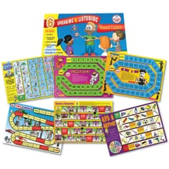 6 Speaking & Listening Skills Board Games