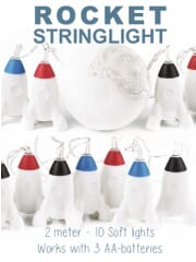 rocket string light