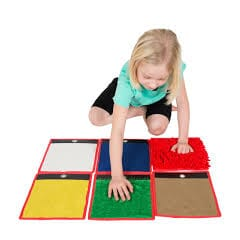 Tactile Mini Mats set of 6