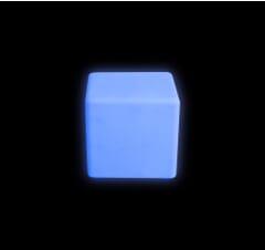 colour change cube blue
