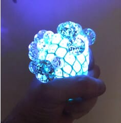 glitter light up ball