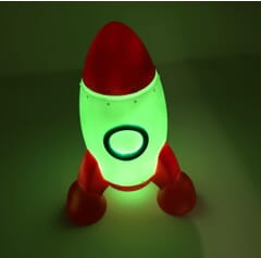 Rocket Colour changing nightlight