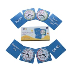 EasyRead Tell the Time Card Games - Level 2