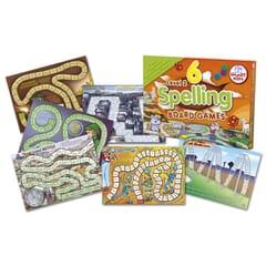 6 Spelling Board Games - Level 2