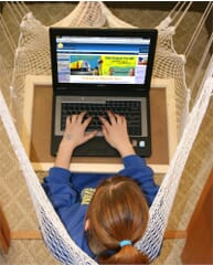 Playaway Study Board for Indoor Net Swing