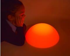 light up sensory pebble