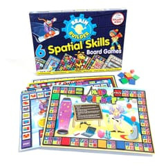 Brain Builder - 6 Spatial Skills Board Games