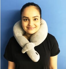 Soft Vibrating Neck Pillow