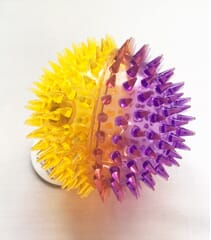 spikey flashing ball