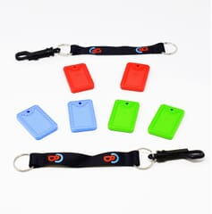 Chewbuddy Chew Tags - Twin Pack - Including Clip